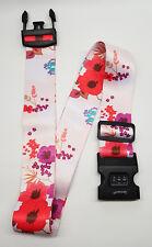 SpiriuS Flowers Travel Luggage Straps Adjustable Suitcase Safety Buckle Belt