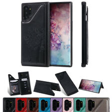Magnetic Leather Back Wallet Lady Case Cover For Samsung Galaxy Note 8 9 10 Plus