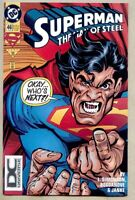 Superman The Man Of Steel #46-1995 vf/nm 9.0 DC Universe variant cover