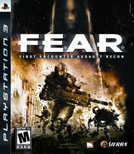 FEAR PS3 New Playstation 3