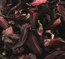 CERTIFIED ORGANIC Hibiscus Flowers, 1oz dry herbs ounce, Multiple item discounts