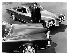 1969 Pontiac Grand Prix w/John Delorean, Factory Pic,Refrigerator Magnet, 40 Mil