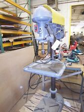 Walker Turner 20 Pedestal Drill Press With T Slot Table 220 3phase Missing Stp
