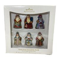 Hallmark Keepsake Ornaments Santas From Around World Edythe Kergrize Miniature