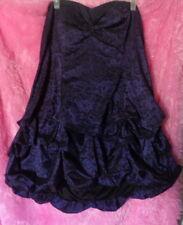 Beauty 3XL Torrid Goth Victorian Brocade Purple Black dress 22 -Buy 2 Get 1 Free