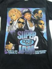 Chris Brown Wiz Khalifa, Diddy, Meek Mill super Jam shirt