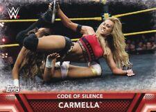 2017 Topps WWE Women's Division Sammelkarte, Finishers  # F-19 Carmella