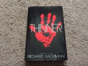 """Thinner"" by Richard Bachman, Stephen King - Hardcover - NICE!!!"