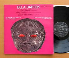 HMB 103 Bartok Divertimento 5 Chants 12 Miniatures Kasandjiev Harmonia Mundi NM