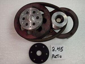 Ultralight aircraft reduction  drive ,airboat , paramotor  PPC  Rotax propeller