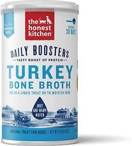 The Honest Kitchen Daily Boosters Turkey Bone Broth Powder 3.6 oz.