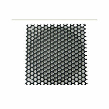 140mm (Black) Steel Mesh Fan Filter with Large Hole