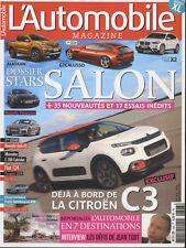 L'AUTOMOBILE MAGAZINE n°843-844 08/2016 AUDI A5 coupé FIAT 124 SPIDER VW AMAROCK