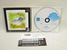 PS1 SEIKEN DENSETSU Legend of Mana Ultimate Hits SPINE CARD * Playstation p1