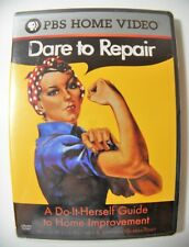 Dare to Repair: A Do-It-Herself Guide to Home Improvement (DVD, 2004)
