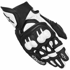 ALPINESTARS GPX MOTORCYCLE GLOVE BLACK/WHITE X-LARGE 3567013-12
