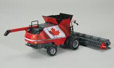 NEW 2015 SpecCast 1:64 MASSEY FERGUSON 9565 *CANADIAN FLAG* Combine w/Draper NIB