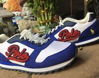 Ralph Lauren Polo Sneakers Size 7 Blue Red White