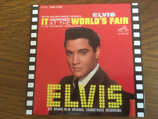 "Elvis Presley ""It Happened At The World's Fair OST"" LP Style Card Sleeve NEW CD"