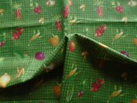 Vegetable vegetable gingham fat quarter of fabric material crafting fabrics new
