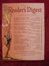 Readers Digest March 1944 Bruce Barton John Steinbeck Ernie Pyle Louise D. Rich