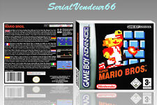 "BOITIER DU JEU ""SUPER MARIO BROS"", GAME BOY ADVANCE, FR. SANS LE JEU."