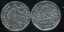 2 francs 1998  NICKEL  semeuse