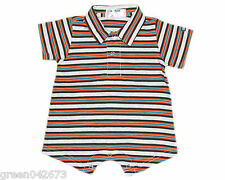 Oshkosh B'gosh Stripes Romper w/ Collar (RWC-03) Infant/Baby Boy Clothes, 3 mos