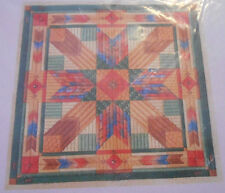 Laura J Perin Design Needlepoint Pattern American Quilt COLOR STUDY Four Winds