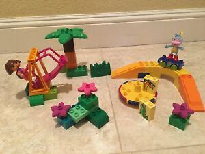 Lego Duplo DORA THE EXPLORER & BOOTS AT PLAY PARK #7332