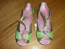 Disney Store  Princess Tinker Bell Shoes for Girls USA YOUTH size 2/3 NEW