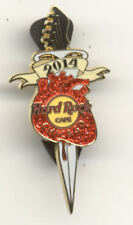 Hard Rock Cafe Chicago Heart and Dagger 2014 Pin
