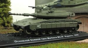 "1:72 Israel main battle tank Merkava IV 2004 series ""Tanks of the world"""
