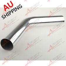 "2.75"" 70MM 45Deg Aluminium Turbo Intercooler Pipe Tube Tubing L=610MM AU SHIP"