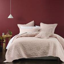 Bianca Krystal Blush Coverlet Set Bedspread Single / Double Bed Size