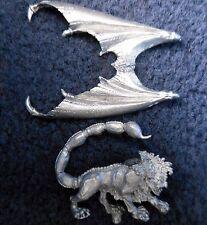 1987 C29 Monster Mantícora Dungeons & Dragons Citadel Warhammer caos D&D Bestia