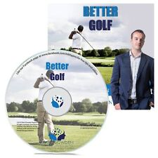 Better Golf Hypnosis CD + FREE MP3 VERSION improve your swing