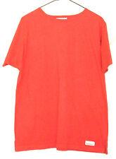 Abercrombie Orange T-Shirt Top Size L Short Sleeve