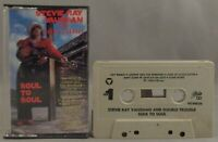 Stevie Ray Vaughan And Double Trouble Soul To Soul (Cassette, 1985, Epic)