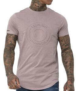 RELIGION Clothing Herren T-Shirt Shirt Injection 39EIJF02 Beige NEU