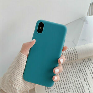 Phone Case For iPhone 13 12 11 Pro XS MAX XR 7 8 Plus SE Silicone Soft Cover