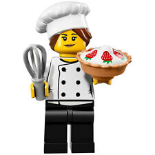 LEGO Series 17 Gourmet Chef Set 71018-3 Minifigures NEW