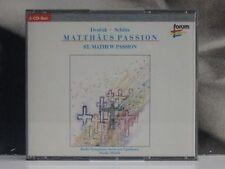 + box 2 CD DVORAK  SCHUTZ  MATTHAUS PASSION MARKO MUNIH SINFONYORCHESTRA LUBIANA