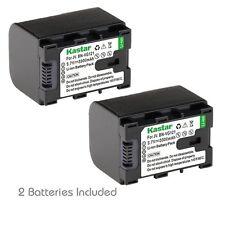 2x Kastar Battery for JVC BN-VG121 Everio GZ-E10 GZ-E100 GZ-E200 GZ-E300 GZ-E505