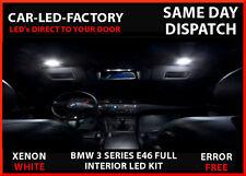 LED UPGRADE LIGHTING INTERIOR 14 LED BMW E46 3 SERIES 1999-2005 XENON WHITE