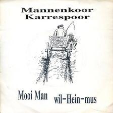 7inch MANNENKOOR KARRESPOOR mooi man HOLLAND 1990 FACE REC