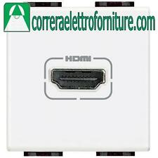 BTICINO N4284 LIVING LIGHT BIANCO CONNETTORE HDMI