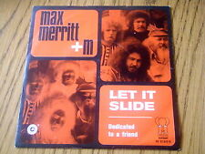 "MAX MERRITT AND THE METEORS - LET IT SLIDE    7"" VINYL PS"