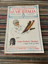 LE VIE D'ITALIA  - APRILE 1925 - TOURNING CLUB ITALIANO