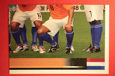 Panini EURO 2008 N. 258 SQUADRA NEDERLAND NEW With BLACK BACK TOPMINT !!!